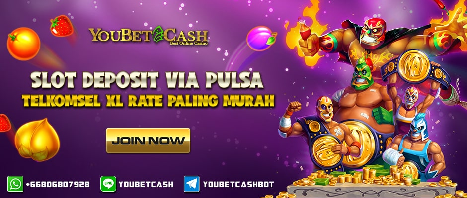 Slot Deposit Via Pulsa Telkomsel XL Rate Paling Murah
